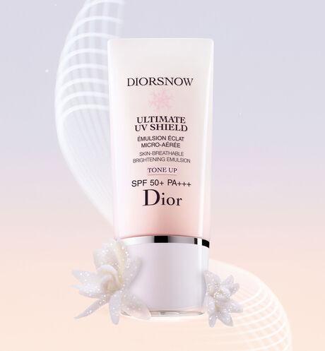 Dior - 全新 迪奥雪晶灵 轻盈致护亮肤防晒乳 - 亮肤修颜 - SPF 50+ PA+++